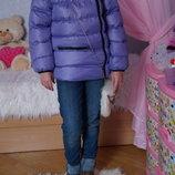 Куртка, новая, демисезонная для девочки, р. 119, 122, 128, 134, 140, 146, 152, 158, 161
