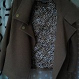 пальто Carla, цвета кофе, М