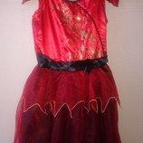 Прокат платья огня, цветка, ведьмочки,волшебницы, королевы, дьяволицы, героя Helloween,Monster Hight