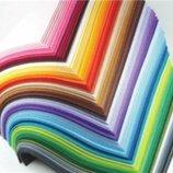 фетр в наличии 24 цвета, 1 мм. цена за лист 21,5х14 см. наборы дешевле
