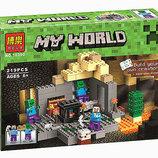 Конструктор Bela 10390 Темница аналог Lego Майнкрафт, Minecraft 21119
