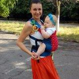 Эргономичный рюкзак BabyLove для малышей летний