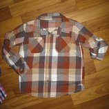 Фирменные рубашки и шведки на 3-6 лет большой выбор