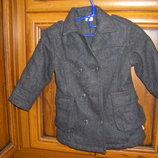 Шерстяное пальто Kind Klein р.86 см