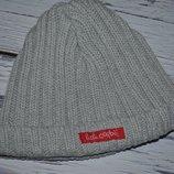 Очень крутая двойная шапка для стильного мальчика 45 - 47 см