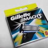 Gillette Mach 3 8шт Только Высокое качество