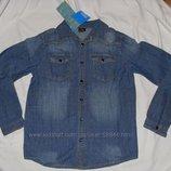 джинсовая рубашка для девочек от Kik Германия