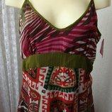 Платье женское летнее легкое сарафан бренд Joe Browns р.52 5276