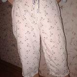 Пижамные бриджики, 100 % хлопок, размер С, наш 42-44