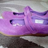 Красивейшие замшевые туфли Lands End, состояние новых