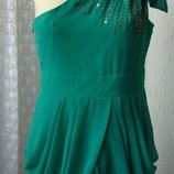 Платье женское летнее коктейльное нарядное мини бренд Mei&Mei р.46 5295