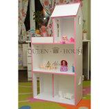 Трехэтажный домик для Барби