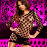 Платье-Сетка / Эротическое белье / Сексуальное белье / Еротична сексуальна білизна