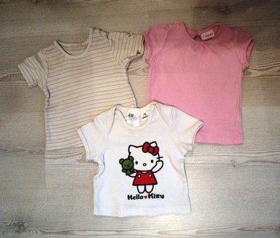 Фирменная футболка на 0-3 мес. и старше