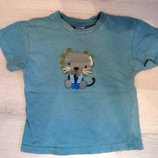Фирменная футболка на 1,5-2 года