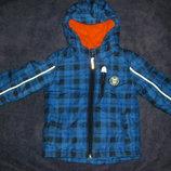 Теплые демисезонные куртки мальчику р. 80-92