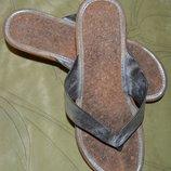 Шлепанцы на пробке, легкие размер 37, стелька 24 см