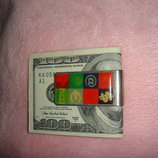 Металлический зажим для денег