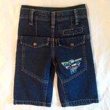 Шорты George на 4-5-6 лет. Стильные джинсовые шорты для мальчика.
