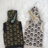 Безрукавка, жилетка Zara на 5-7 и 7-9 лет. Стильная вязаная тёплая кофта, свитер, джемпер