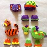Игрушка. Мягкие пазлы на магнитах. Развивающая игра для детей 1-3 года.