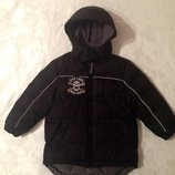Зимняя куртка бомбер Duck&Dodge на 4-5 лет. Англия. Стильная курточка для мальчика.