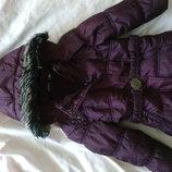 Куртка для девочки на 3-5 лет