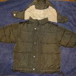 Класные тепленькие куртки осень-зима малышу 9-24 мес в отличном состоянии