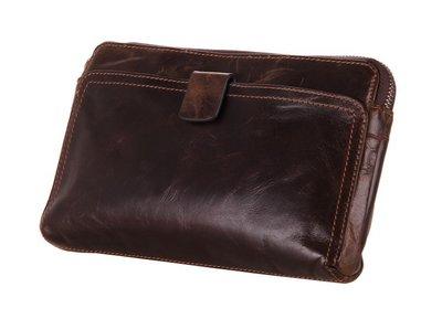 Мужская кожаная барсетка клатч кошелек портмоне Престиж