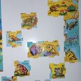 подарок к покупкам магниты растишка карта світу алфавит динозавры