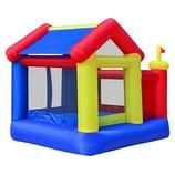 Надувной детский батут - игровой центр Домик MS 0567 уличный, коммерческий