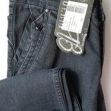 Новые темно-серые джинсы Турция