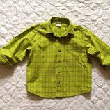 Стильная рубашка Next на 3-4-5 лет. Яркая рубашка, блузка, кофточка. унисекс.