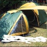 Палатка Traper 4, клеенные швы, тамбур