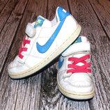 Кожаные кроссовки Nike для ребенка, размер 12 18,5 см