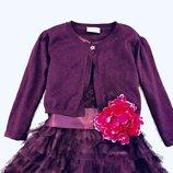 Шикарное болеро Next с шиммером. 6-9 лет. Кофточка, кофта, нарядное пышное платье.