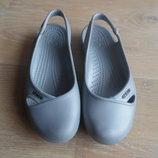 Крокс аквашузы обувь для пляжа бассейна срые с камнями Crocs крокс оригинал