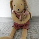 Moulin Roty La Grande Famille Кролик Сильван и другие игрушки
