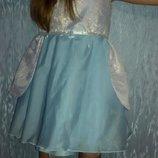 Очень нарядное платье для принцессы 18-36 месяцев