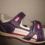 Кожаные босоножки 27-32 р. Calorie на девочку калори, шкіра, сандалии, сандалі, босоніжки, обувь