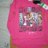 Детская пижама для девочек Monster High, 8-12лет