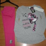 Детская пижама для девочек Monster High, 8,10лет