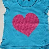 Ну дуууже симпатичні футболочки для дівчинки 12-18м
