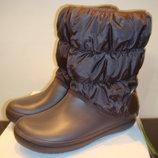 Сапоги зимние Crocs Winter Puff Boot Wom Snow Boot раз. US 5 и US 8