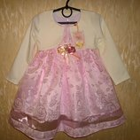 Нарядное платье и болеро для девочки по суперцене, венгрия