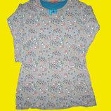 Хб платье HEMA с кошечками ,рост 146-152 см