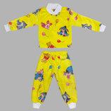 теплая махровая от 1-10 лет пижама трикотажные манжеты на рукавах штанах пижама штаны с манжетами