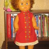 Большая кукла ссср 55 см. Наташа 8 марта