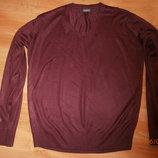 Пуловер мужской, размер М-Л. Замеры