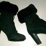 Продам свои зимние ботинки на меху